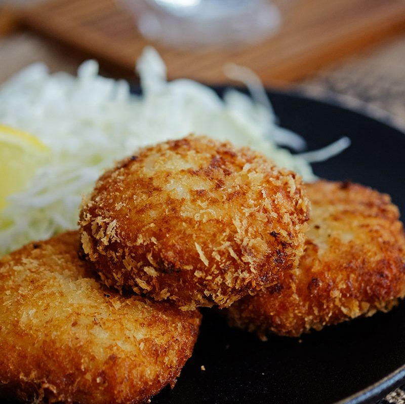 Bear Naked Food Creamy Crab Croquette